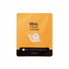 ECOPURE Real Therapy Hydrogel Snail Mask