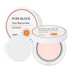 A'PIEU Pure Block Water Bling Sun Balm SPF50