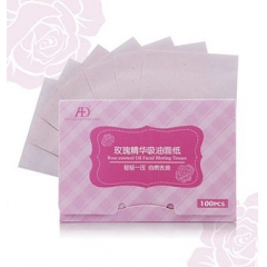 ANGELS & DEMONS Rose Essential Oil Facial Tissues