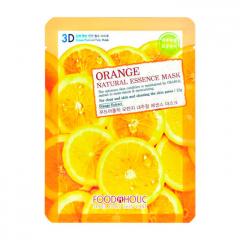 FOODAHOLIC Orange Gram Natural Essence 3D Mask