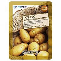 FOODAHOLIC Potato Natural Essence 3D Mask