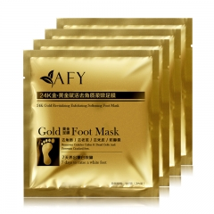AFY 24K Active Gold Revitalizing Exfoliating Softening Foot Mask
