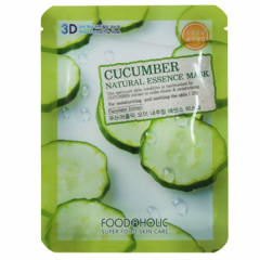 FOODAHOLIC Cucumber Natural Essence 3D Mask