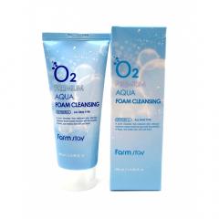 FARM STAY O2 Premium Aqua Foam Cleansing