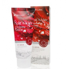 3W CLINIC Rose Water Foam Cleansing