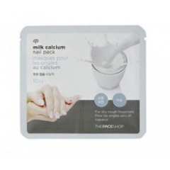 THE FACE SHOP Milk Calcium and Proteine Nail Pack