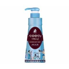 MUKUNGHWA Exfoliating Jeju Dead Sea Mineral Salts Shower Body Soap