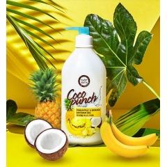 HAPPY BATH Coco Punch Pineapple & Banana Shower Gel