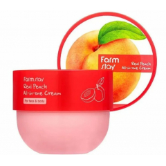 FARM STAY Real Peach All-in-One Cream