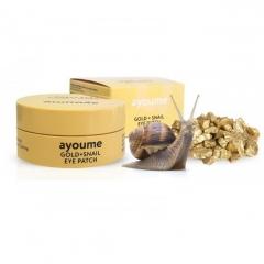 AYOUME Gold+Snail Eye Patch