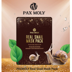 PAX MOLY Real Snail Mask Pack