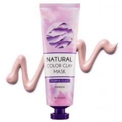 MISSHA  Natural Color Clay Mask PURPLE Clay Firming