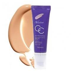 DEOPROCE Violet CC Cream