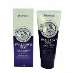 DEOPROCE Swallow's Nest Marine Therapy Hand & Body