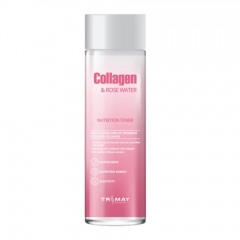 TRIMAY Collagen & Rose Water Nutrition Toner