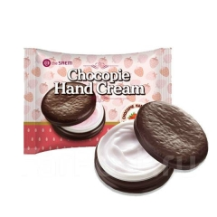 THE SAEM Chocopie Hand Cream - Strawberry