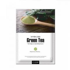 COS W My Real Skin Green Tea Facial Mask