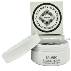 LA MISO Black Pearl Hydrogel Eye Patch