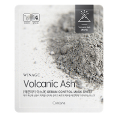COREANA WinAge Volcanic Ash Sebum Control Mask Sheet