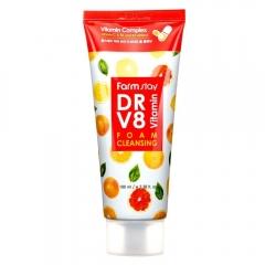 FARM STAY DR.V8 Vitamin Foam Cleansing
