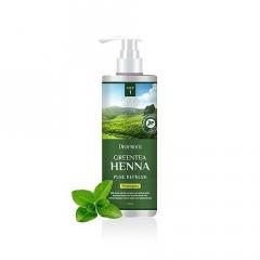 DEOPROCE Greentea Henna Pure Refresh Shampoo