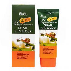 EKEL Soothing & Moisture Snail Sun Block SPF 50 PA+++