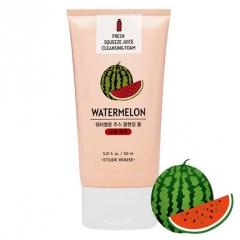 ETUDE HOUSE Fresh Squeeze Juice Cleansing Foam Watermelon