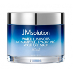 JMSOLUTION  Water Luminous S.O.S Ampoule Hyaluronic Wash Off  Mask