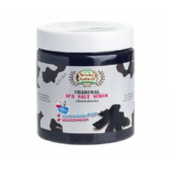 BEAUTY NATURE BY CAREBEAU Body Salt Scrub Charcoal