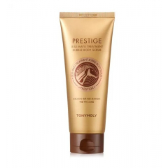 TONY MOLY Prestige Jeju Mayu Treatment Bubble Body Scrub