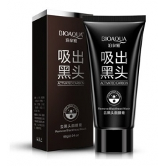 BIOAQUA Activated Carbon Pore Blackhead Face Mask