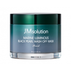 JMSOLUTION Marine Luminous Black Pearl Wash Off Mask