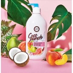 HAPPY BATH Coco Punch Peach & Guava Shower Gel