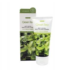 JIGOTT Natural Green Tea Foam Cleansing