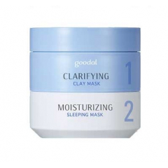 GOODAL Moist Synergy Mask Duo: Clarifying + Moisturizing
