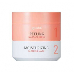 GOODAL Moist Synergy Mask Duo: Peeling + Moisturizing