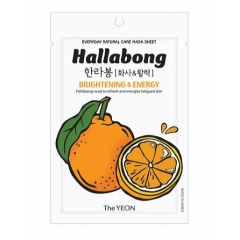 THE YEON Everyday Natural Care Mask Sheet Hallabong