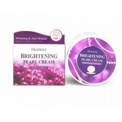 DEOPROCE Moisture Brightening Pearl Cream