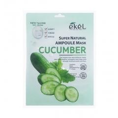 EKEL Super Natural Ampoule Mask Cucumber