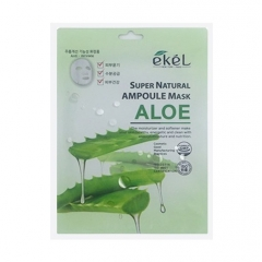 EKEL Super Natural Ampoule Mask Aloe