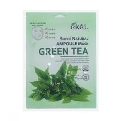 EKEL Super Natural Ampoule Mask Green Tea