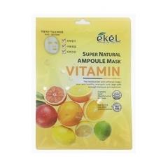EKEL Super Natural Ampoule Mask Vitamin