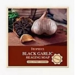 DEOPROCE Black Garlic Reaging Soap