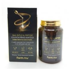 FARM STAY 24k Gold Peptide Solution Prime Ampoule