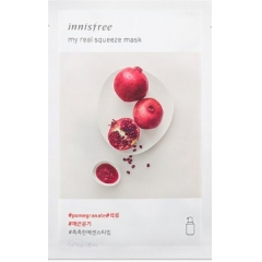 INNISFREE My Real Squeeze Mask - Pomegranate.