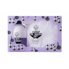 VILLAGE 11 FACTORY Body Oil Wash (Violet) Set