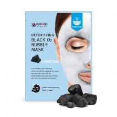 EYENLIP Detoxifying Black O2 Bubble Mask - Charcoal