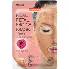 PUREDERM Real Petal MG:Gel Mask Rose