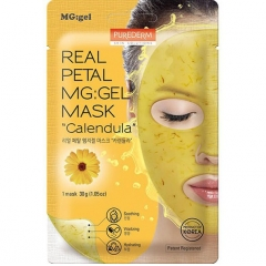 PUREDERM Real Petal MG:Gel Mask Calendula