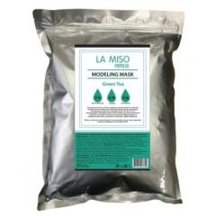 LA MISO Modeling Mask Green tea